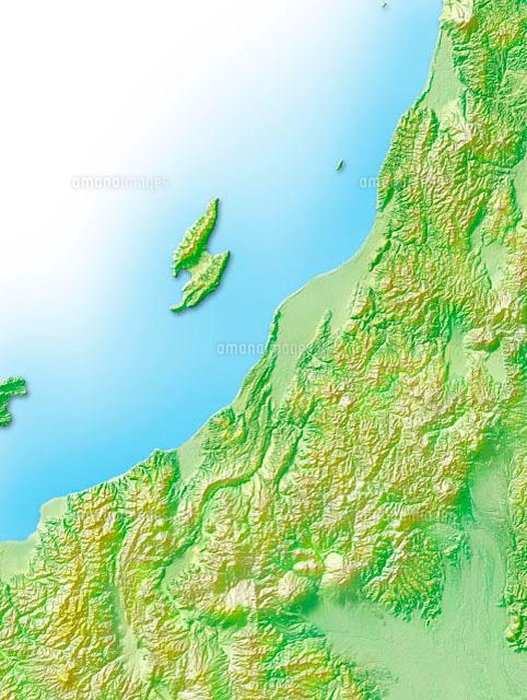 新潟県地図10263000078の写真素材イラスト素材アマナ