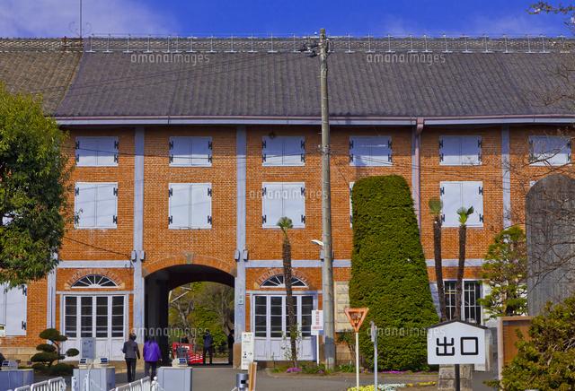 富岡製糸場の東繭倉庫10282004992の写真素材イラスト素材