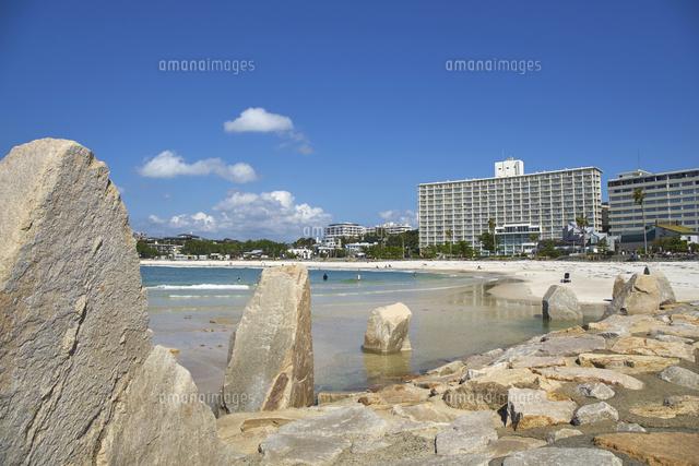 白良浜の波打ち際10404017767の写真素材イラスト素材アマナイメージズ