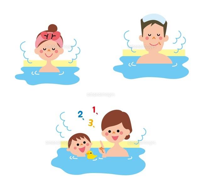 お風呂に入る家族[10423000573]の写真素材・イラスト素材|アマナ ...