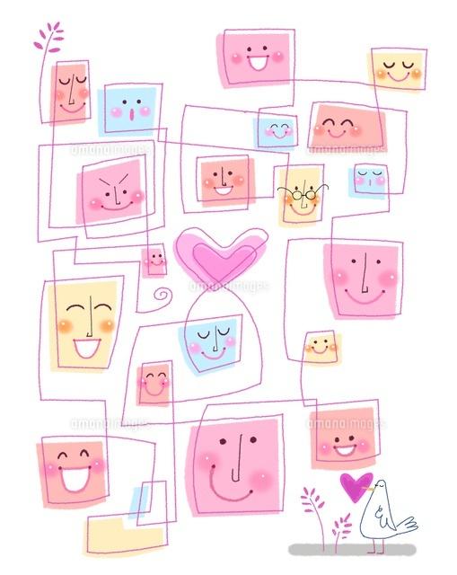 愛でつながる10473000021の写真素材イラスト素材アマナイメージズ