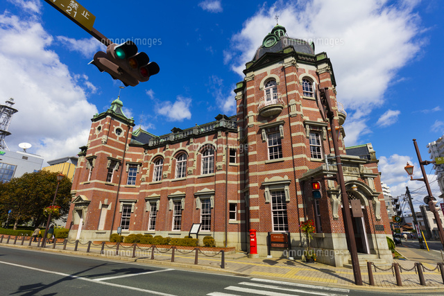 明治時代の建物 岩手銀行赤レンガ館[10487002461]の写真素材