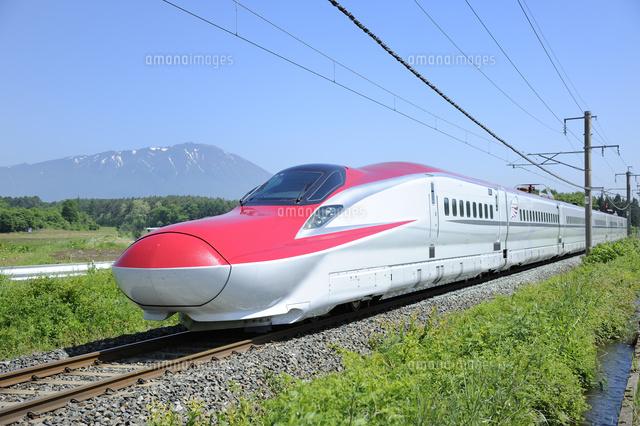 100 新幹線 こまち イラスト 写真素材 フォトライブラリー