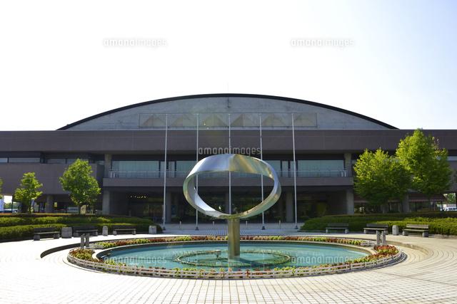 長岡産業交流会館(ハイブ長岡)[10604002122]の写真素材・イラスト ...