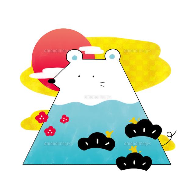 富士山のようなネズミ の写真素材 イラスト素材 アマナイメージズ