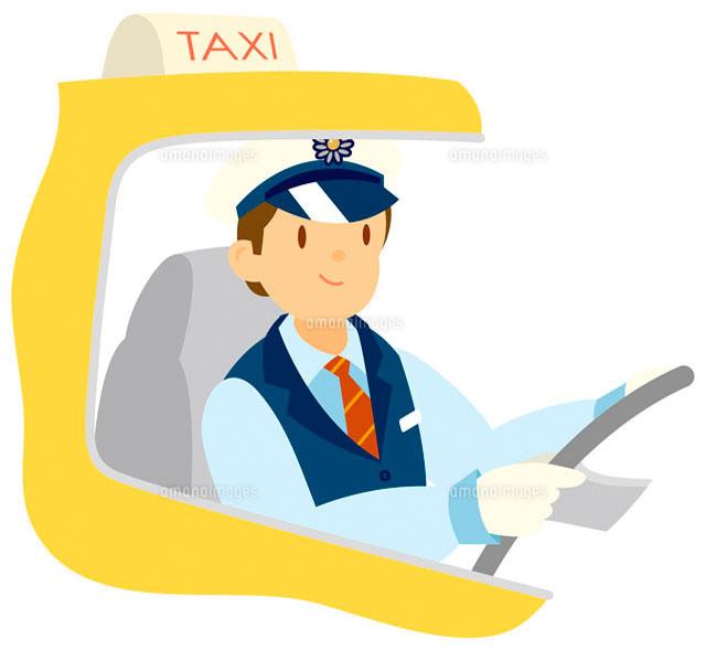 タクシー運転手 イラスト11002026517の写真素材イラスト素材アマナ