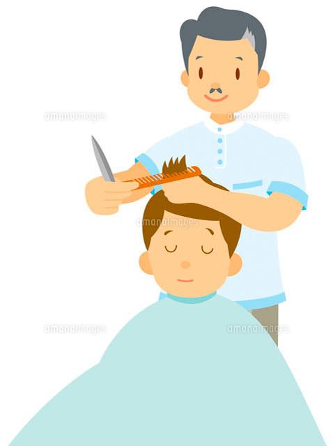 理髪店 イラスト11002026581の写真素材イラスト素材アマナイメージズ