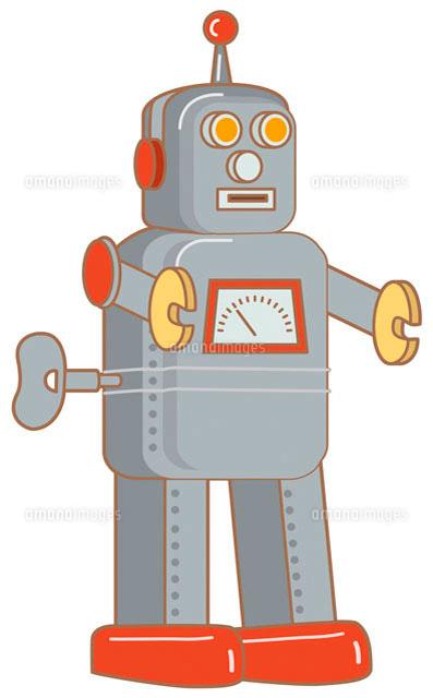 ブリキのロボット イラスト11002026658の写真素材イラスト素材
