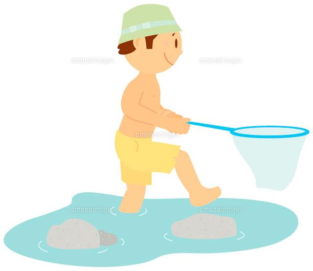 水遊び イラスト11002026741の写真素材イラスト素材アマナイメージズ