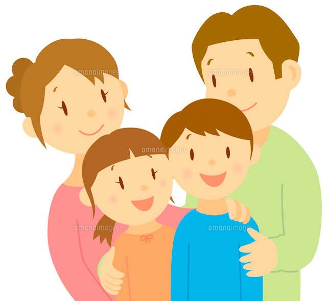 家族 イラスト11002026758の写真素材イラスト素材アマナイメージズ
