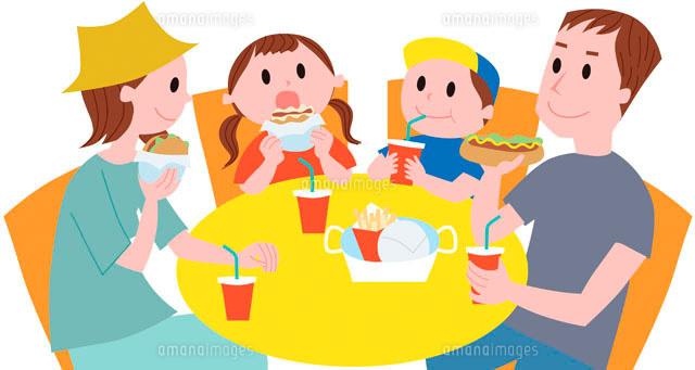 食事をする家族11002051960の写真素材イラスト素材アマナイメージズ