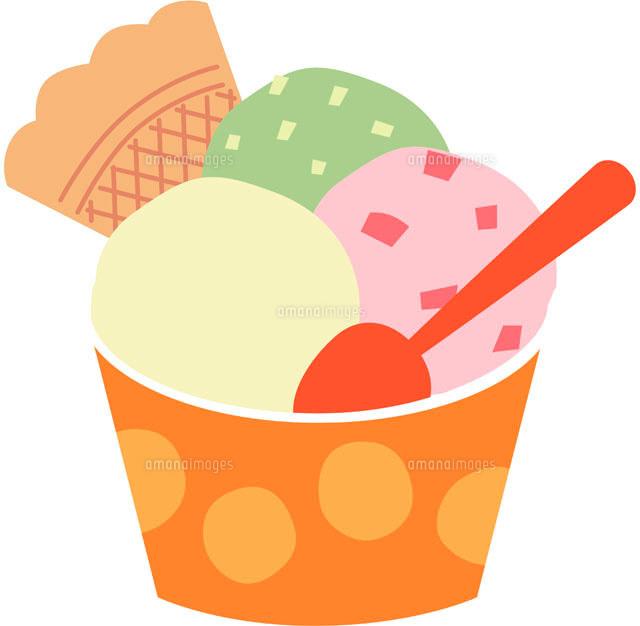 アイスクリーム11002052039の写真素材イラスト素材アマナイメージズ
