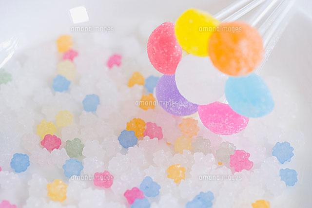 キャンディと金平糖11002055339の写真素材イラスト素材アマナ