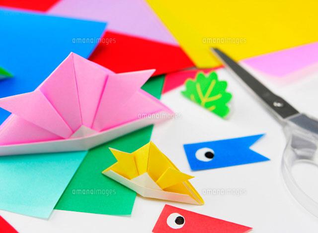 端午の節句 折り紙11004021166の写真素材イラスト素材アマナイメージズ