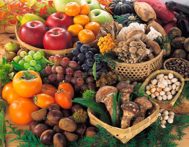 秋の味覚集合11012001156の写真素材イラスト素材アマナイメージズ