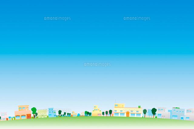 街並イメージ イラスト11019015769の写真素材イラスト素材アマナ
