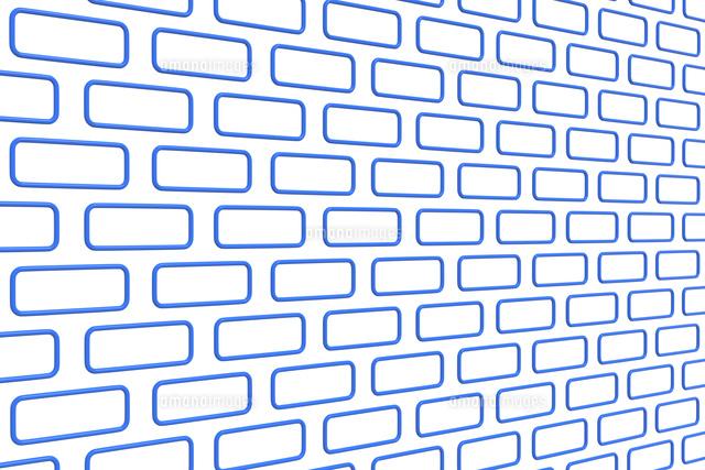 一面に並ぶ四角形の模様 Cg11019039478の写真素材イラスト素材