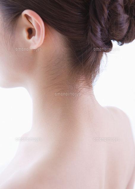 女性のうなじ11022006062の写真素材イラスト素材アマナイメージズ