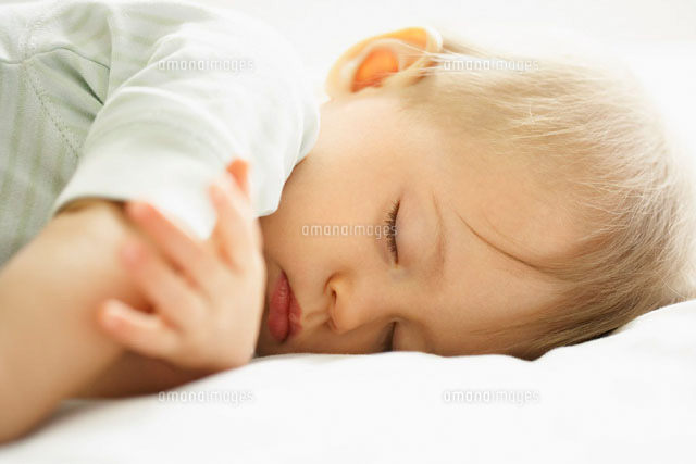 Portrait of Baby Sleeping