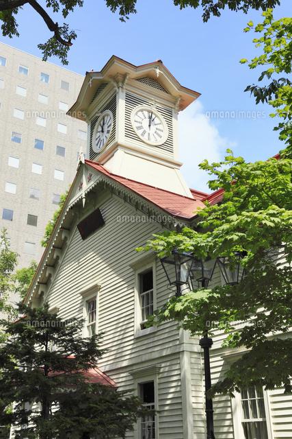 札幌時計台11076012753の写真素材イラスト素材アマナイメージズ