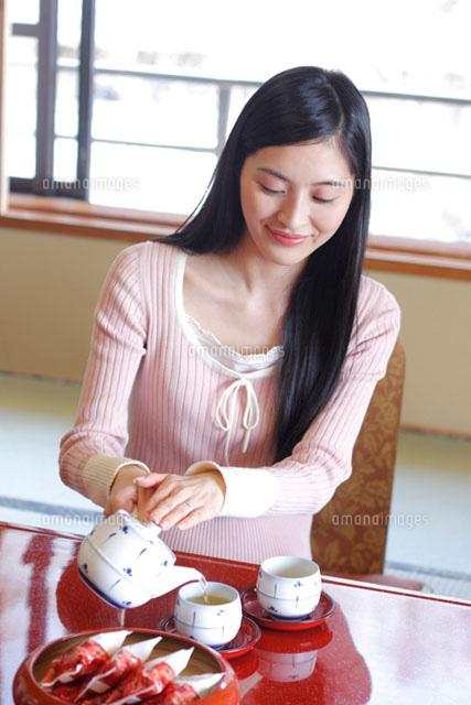 お茶をいれる 漢字