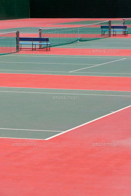 テニスコート28056000543の写真素材イラスト素材アマナイメージズ