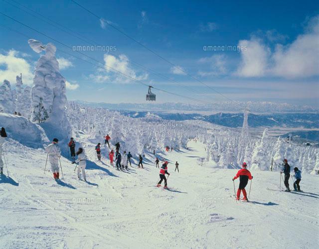 スキー場28144030848の写真素材イラスト素材アマナイメージズ