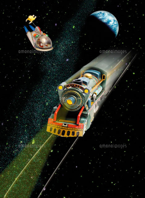 銀河鉄道オモチャ28144088193の写真素材イラスト素材アマナ