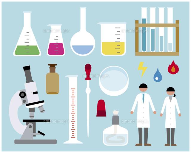 科学実験セット60000000277の写真素材イラスト素材アマナイメージズ