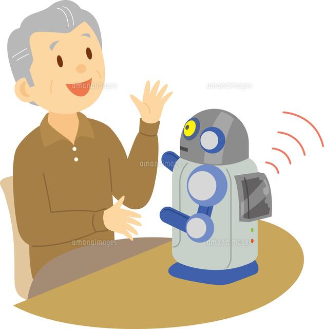 対話ロボット60008000597の写真素材イラスト素材アマナイメージズ