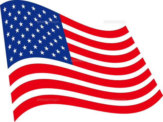 アメリカの国旗60009000061の写真素材イラスト素材アマナイメージズ