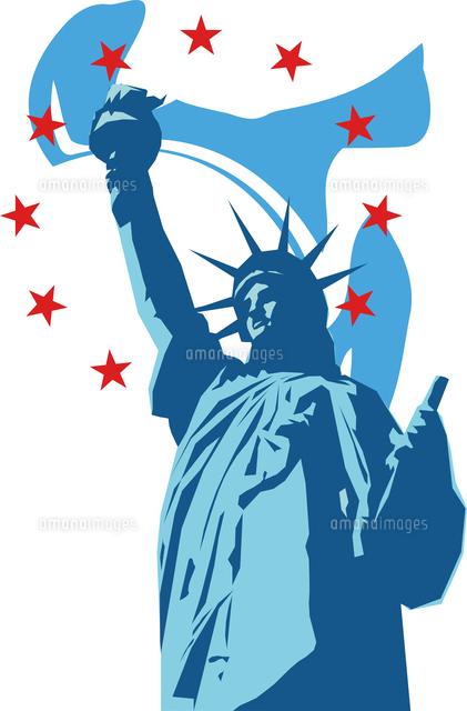 アメリカの自由の女神60009000307の写真素材イラスト素材アマナ