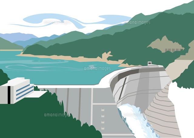 富山の黒部ダム60009000443の写真素材イラスト素材アマナイメージズ