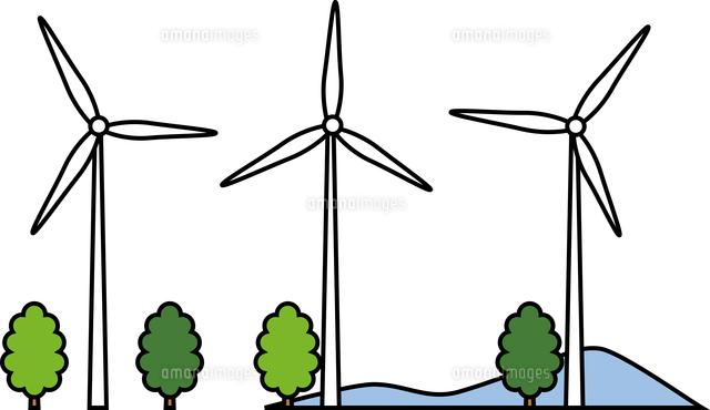 風力発電所60009000581の写真素材イラスト素材アマナイメージズ
