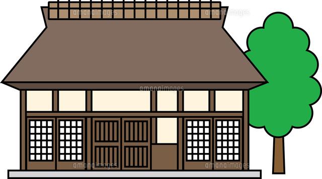 茅葺屋根住宅60009000611の写真素材イラスト素材アマナイメージズ