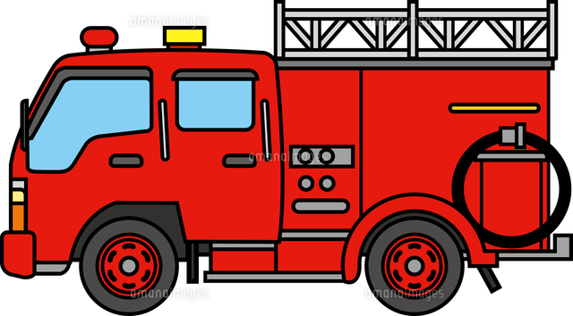 消防車60009000615の写真素材イラスト素材アマナイメージズ