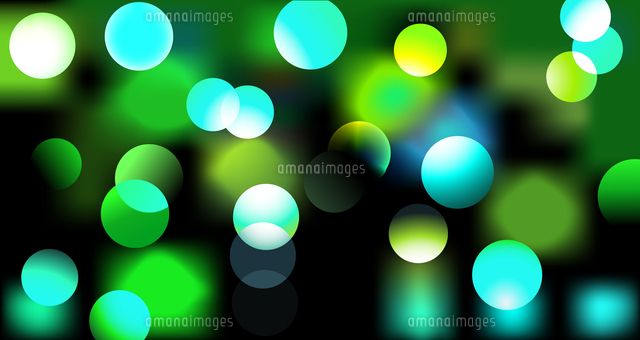 Vector Illustration Of Disco Lights Dots Pattern On Black Background