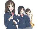 吹奏楽部の女の子3人
