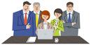 良い成果に集まる同僚たち