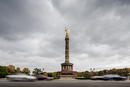 Germany, Berlin, Tiergarten, Siegessaule, View of Berlin Victory Column