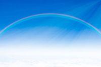 青空と虹 合成 07800014159| 写真素材・ストックフォト・画像・イラスト素材|アマナイメージズ