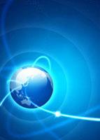 地球と光のイメージ 07800018095| 写真素材・ストックフォト・画像・イラスト素材|アマナイメージズ