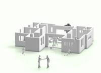家の設計図 10131025183  写真素材・ストックフォト・画像・イラスト素材 アマナイメージズ