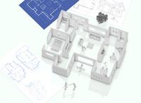家の設計図 10131025184  写真素材・ストックフォト・画像・イラスト素材 アマナイメージズ
