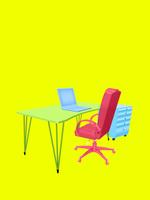 オフィスセット 10143009758| 写真素材・ストックフォト・画像・イラスト素材|アマナイメージズ