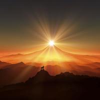 富士山と羊 10185001858| 写真素材・ストックフォト・画像・イラスト素材|アマナイメージズ