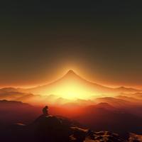 富士山と猿 10185001871| 写真素材・ストックフォト・画像・イラスト素材|アマナイメージズ