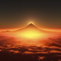 富士山の日の出 10185001929| 写真素材・ストックフォト・画像・イラスト素材|アマナイメージズ