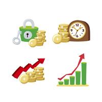 金融(セキュリティ、時は金なり、グラフ) 10423001030| 写真素材・ストックフォト・画像・イラスト素材|アマナイメージズ
