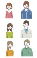 家族バストアップ(笑顔) 10423001134| 写真素材・ストックフォト・画像・イラスト素材|アマナイメージズ